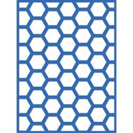 Kaisercraft, Decorative Dies, Hexagon, 10.20cm x 7.40cm  Scrapify