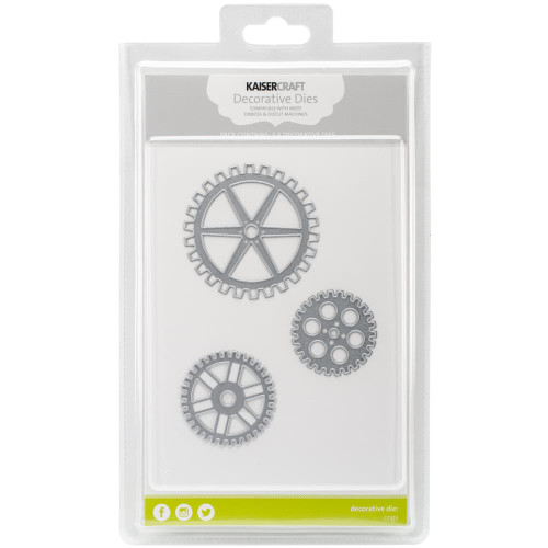 Kaisercraft, Decorative Dies, Cogs x3  Scrapify