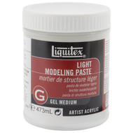 Liquitex Light Modeling Paste, Acrylic Gel Medium, 473ml (16oz), Scrapify, Australia