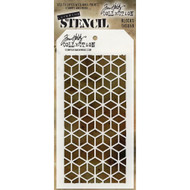 Tim Holtz Collection -  Stampers Anonymous - Layering Stencils - Blocks, Scrapify, Australia