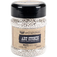 Prima, Finnabair, art ingredients, Art Stones, white, 230 ml, Scrapify, Australia
