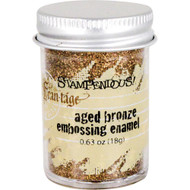 Stampendous Frantage, Aged Bronze embossing powder, 19g, Scrapify, Australia