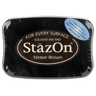 StazOn TSUKINEKO, Ink Pad, Timber Brown, Scrapify, Australia
