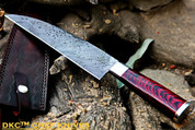 DKC-194 ZATORI CHEF Knife Damascus Blade