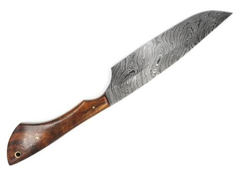"DKC-1005 BERKELEY CHEF Knife Damascus Steel Blade 8 "" Blade 13"" Overall 8 oz"