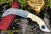 "DKC-131 HANNIBAL Karambit Damascus Steel Knife DKC Knives (TM) 14 oz 5"" Blade 11"" Overall (DKC-131 )"