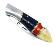 "DKC-58-440c BLUE JAY 440c Stainless Steel Folding Pocket Knife 4.5"" Folded 8"" Long 6oz"