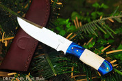 """NS SALE DKC-521-440c BLUE MOON 440c Stainless Steel Hunting Handmade Knife Fixed Blade 7 oz 9"""" Long"""