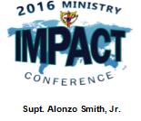 2016 Ministry IMPACT Conference - Sermon DVD - Supt. Alonzo Smith, Jr.