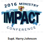 2016 Ministry IMPACT Conference - Sermon DVD - Supt. Harry Johnson