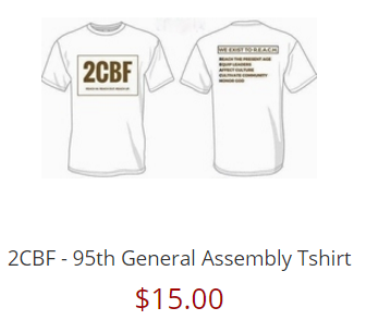 2CBF - 95th General Assembly Tshirt