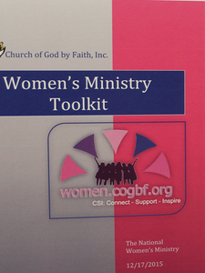COGBF National Womenƒ's Ministry Toolkit