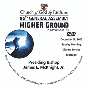 96GA - DVD-Higher Ground - McKnight