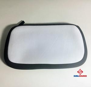 10 in x 6 in Neoprene Cosmetic or Pencil Bag With Zipper
