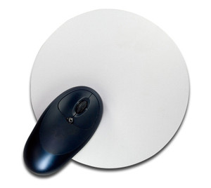 Round Sublimation Mouse Pad 7 in Round x .25 in Thick