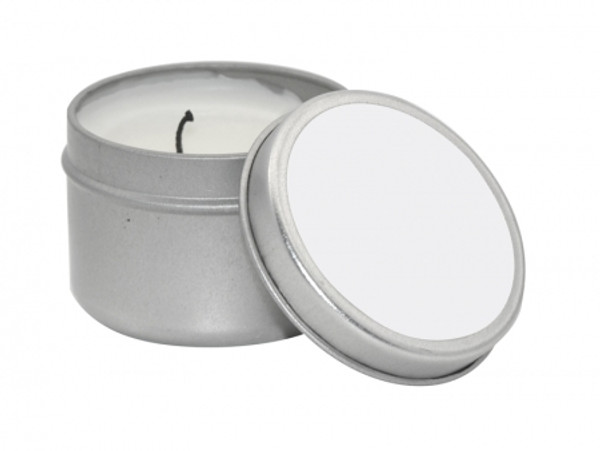 2 oz. Metal Tin with Candle Insert