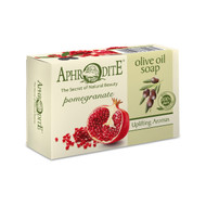 The invigorating olive oil soap is enriched with exceptionally antioxidant pomegranate extract and enhanced by its captivating aroma. For all skin types