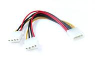 15CM Molex Power Splitter Cable