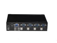 Rextron 4 Port USB KVM Switch