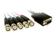 2M VGA TO 5XBNC M Cable