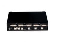 Rextron 4 Port DVI USB KVM Switch