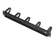1RU Cable Management Rail With 5 Rings