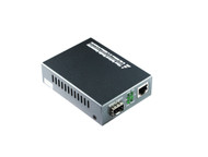 10/100/1000M Multimode Media Converter With SFP Port