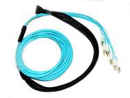 50M 12 Core OM3 LC-LC Pre-Terminated Cable