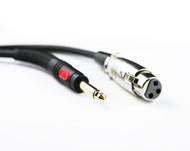 5M XLR F to 6.35 Plug Cable