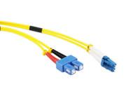 1M LC-SC OS1/OS2 9/125 Singlemode Duplex Fibre Patch Cable