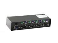 4 Port PS/2 KVM Switch
