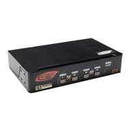 Rextron 4-Port HDMI KVM Switch w/ Audio & Hotkey Control