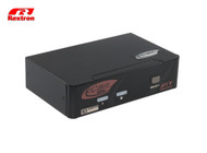 Rextron 2 Port Displayport + USB  KVM Switch ( Audio + HotKey )