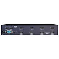 Rextron 3D HDMI Video 4x4 Matrix with GUI, IR & Serial Control