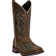 Laredo Women's Sadie Dark Tan Oiled 5673 Boot