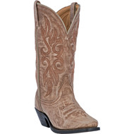 Laredo Women's Maricopa Tan Crackle Finish Goat 51041 Boot