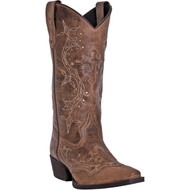 Laredo Women's Cross Point Burnt Rust 52033 Boot