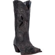 Laredo Women's Lucretia Black/Tan 52133 Boot