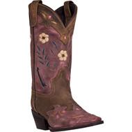 Laredo Women's Miss Kate  Brown/Pink 52137 Boot