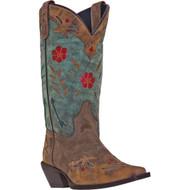 Laredo Women's Miss Kate  Brown/Teal 52138 Boot