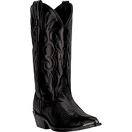 Laredo Men's Atlanta Black Leather-Like Top 68085 Boot