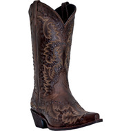Laredo Men's Midnight Rider All Over Dark Brandy  68419 Boot