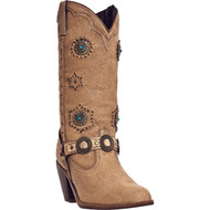 Dingo Women's Addie All Over Chestnut DI 566 Boot