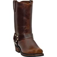 Dingo Men's Dean All Mahogany  DI19056 Boot