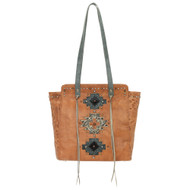 American West Navajo Soul Zip Top Tote 3415534