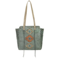 American West Navajo Soul Zip Top Tote 3478534