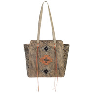 American West Navajo Soul Zip Top Tote 3483534