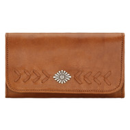 American West Ladies' Tri-Fold Wallet 5915282