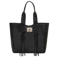 American West Large Zip Top Tote 5920915