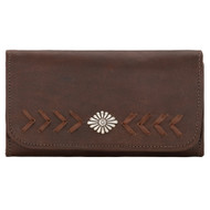 American West Ladies' Tri-Fold Wallet 5985282